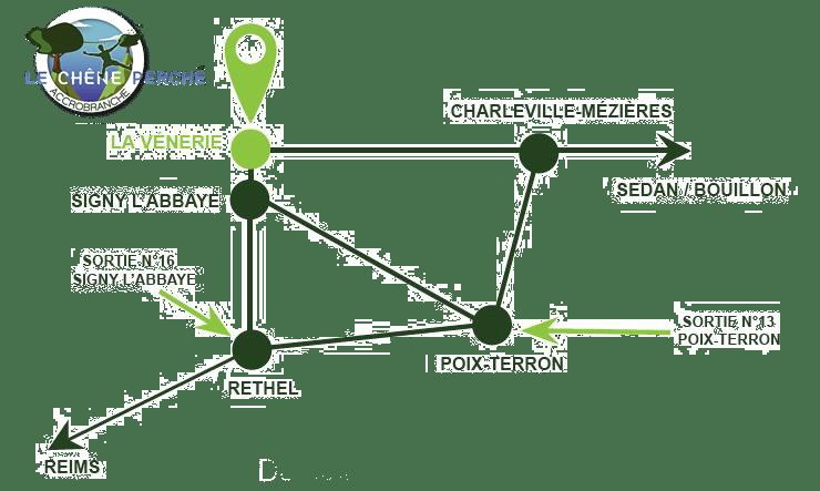 Localisation-du-Chêne-Perché