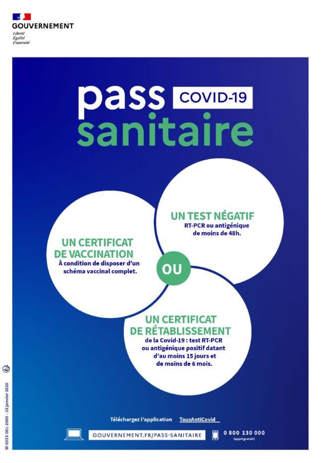 Pass sanitaire 2021